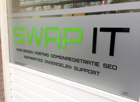 Logo op matfolie