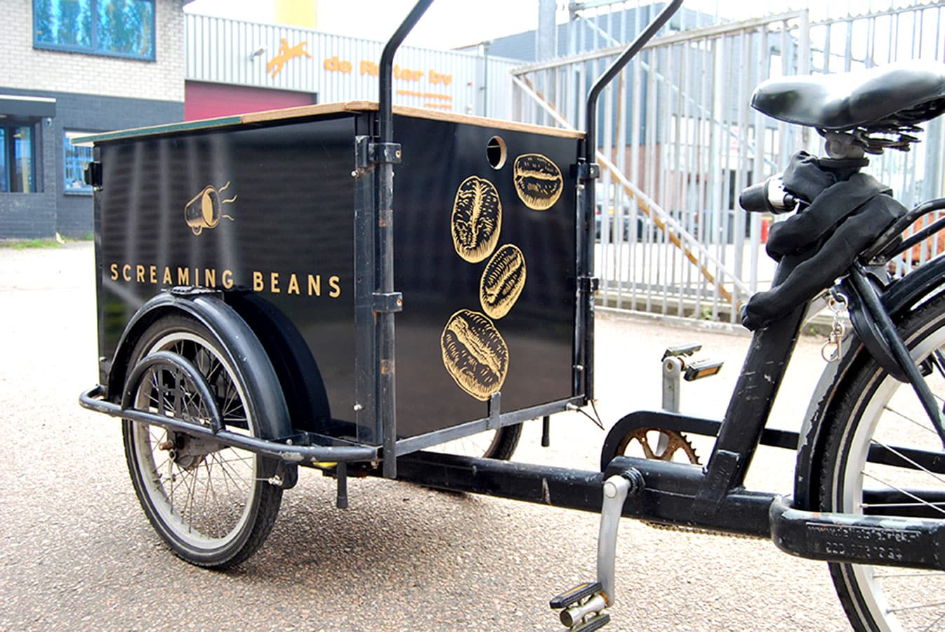 Bakfiets reclame