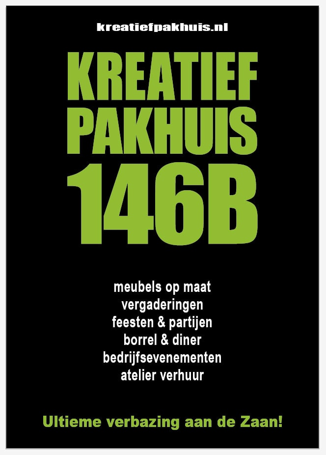 Flyer kreatief pakhuis