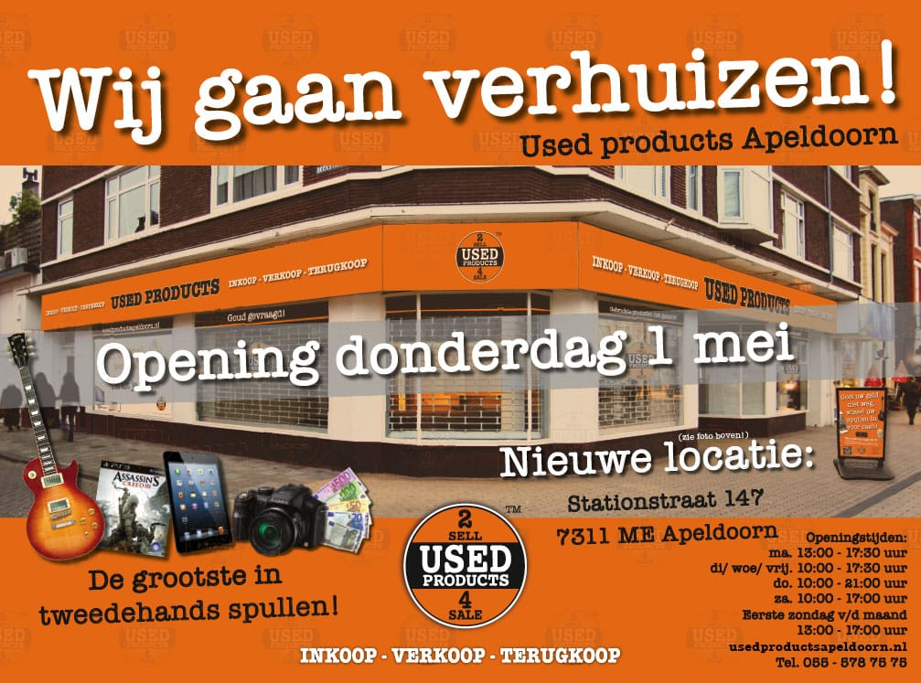 Huisstijl advertenties