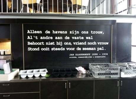 inspirerende restaurant tekst