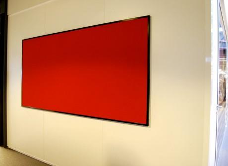 Pinboard met gekleurd vilt