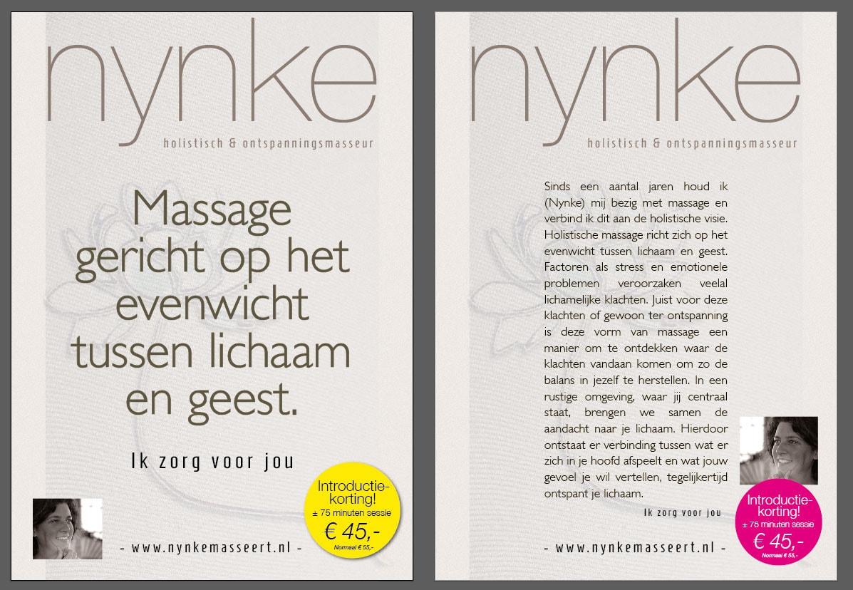 Poster masseur