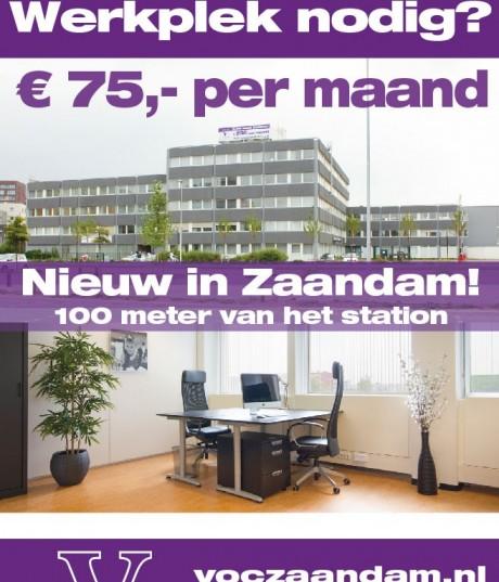 Poster werkplek huren