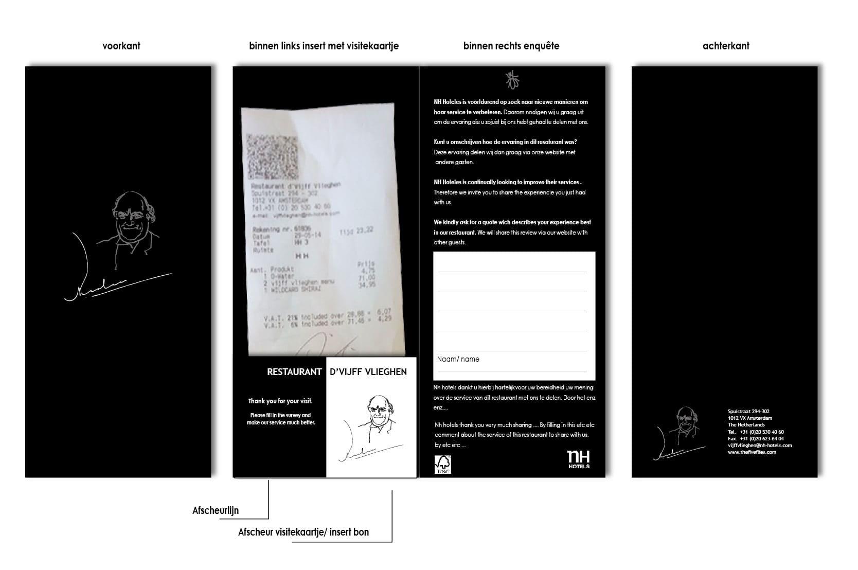 Rekeningenmapje ontwerp