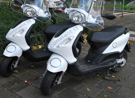 Scooter reclame