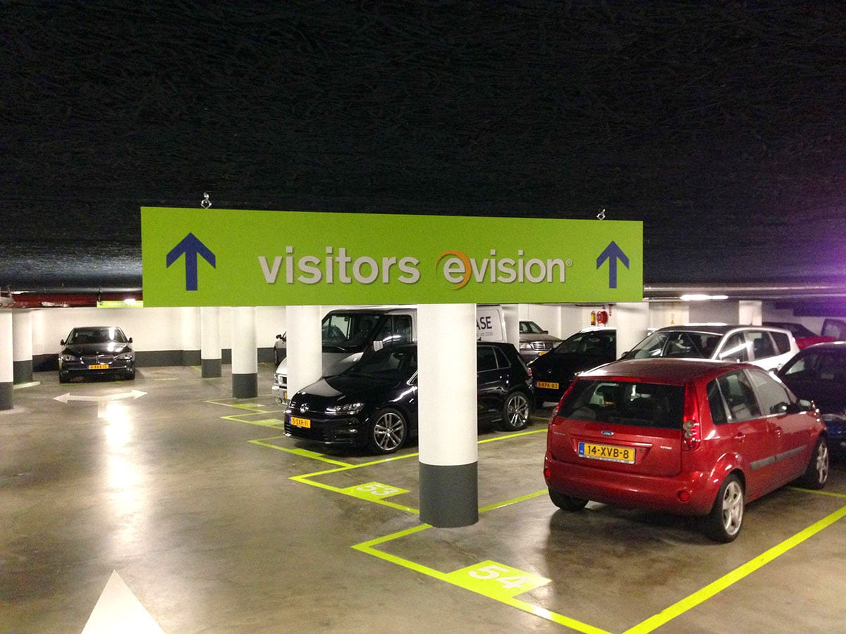 Bewegwijzering parking