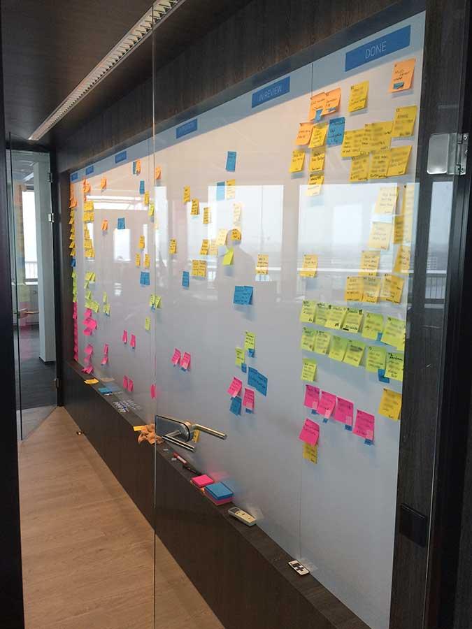 Planbord op maat voor op kantoor