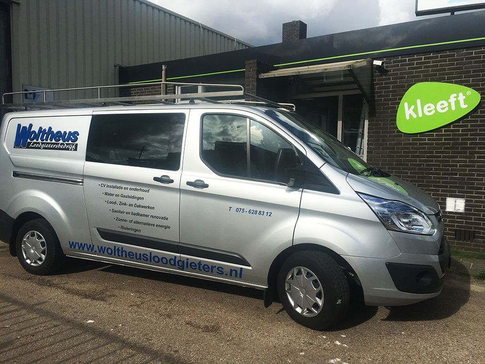auto belettering ford transit custom 1