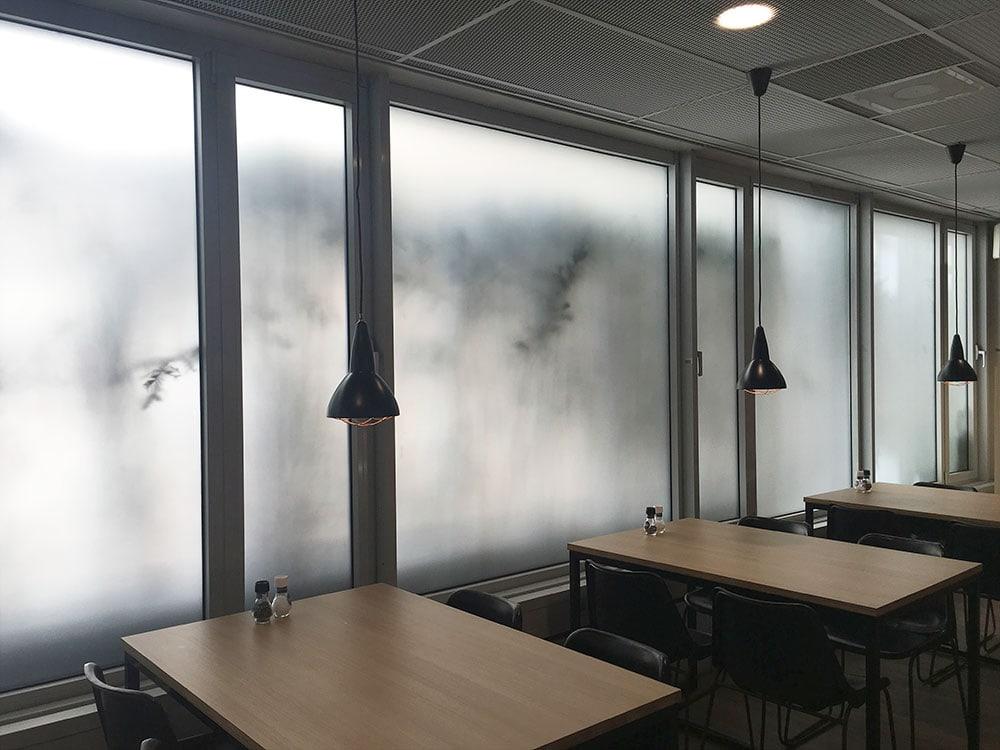 Ondoorzichtige folie voor kantoor 1