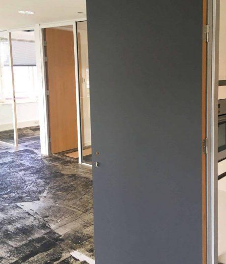 kantoor deur restylen