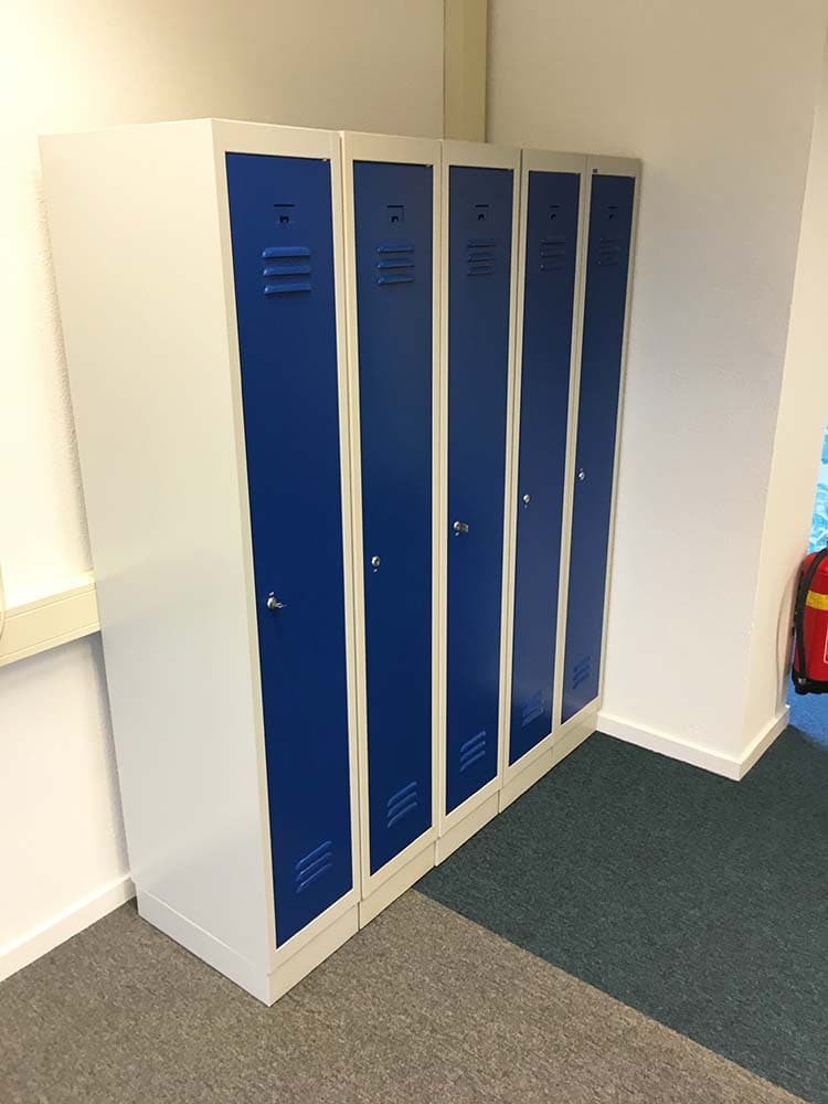Lockers wrappen beplakken