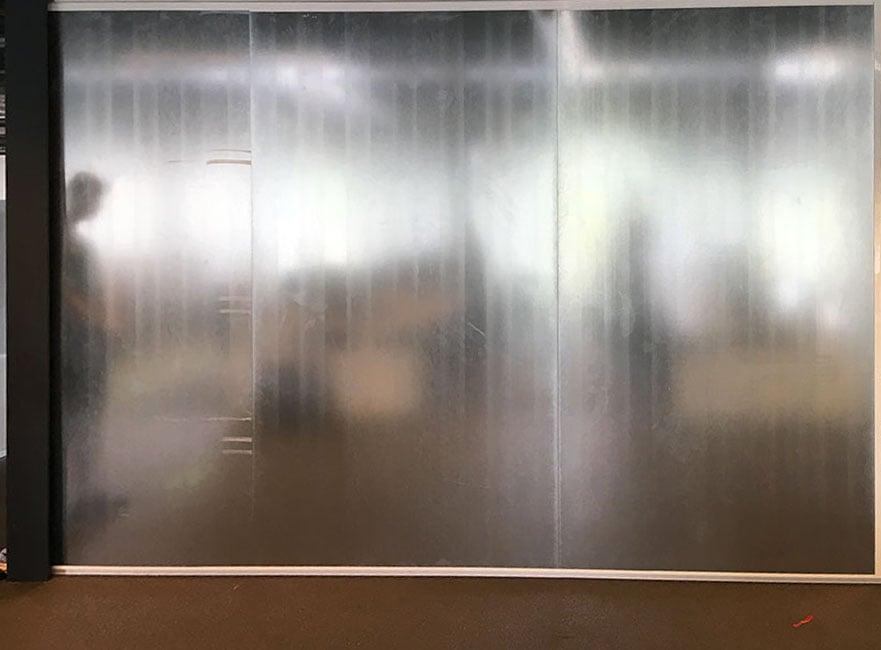 Magnetisch whiteboard complete muur
