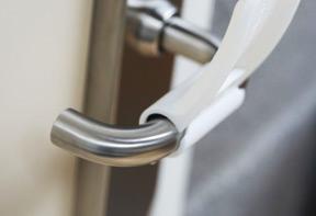 Covid19 handsfree door opener deurgreep
