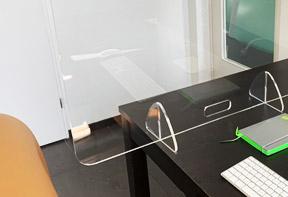Coronaproof Desk divider solo