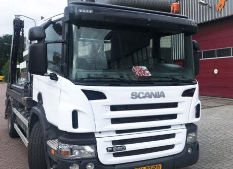 Vrachtwagen carwrap