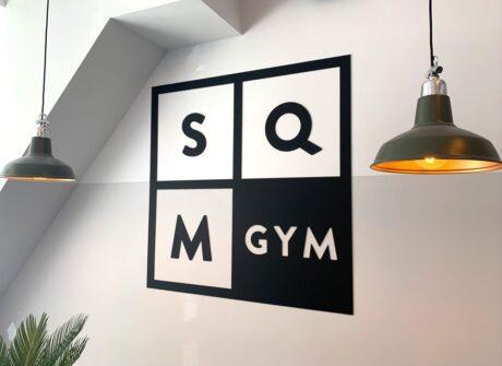 Logo voor sportschool