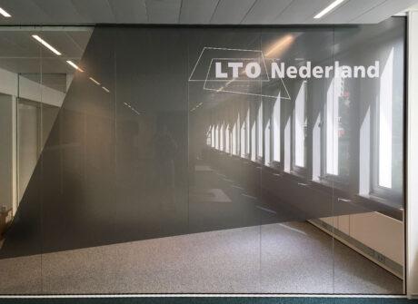 Glasfolie voor kantoor