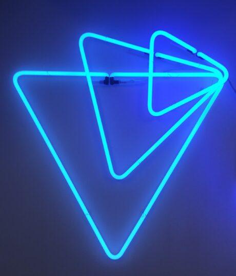 Logo van neon